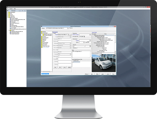 F2 Dealership Software